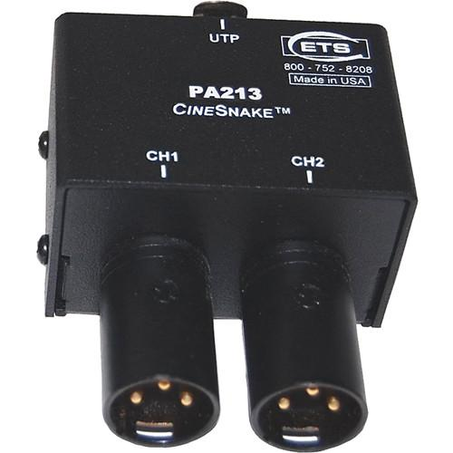 Energy Transformation Systems CineSnake PA213 2-Channel PA213