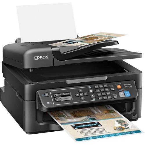 Epson WorkForce WF-2630 All-In-One Inkjet Printer C11CE36201