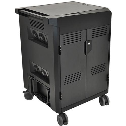 Ergotron PowerShuttle Laptop Management Cart (Black) 24-246-085