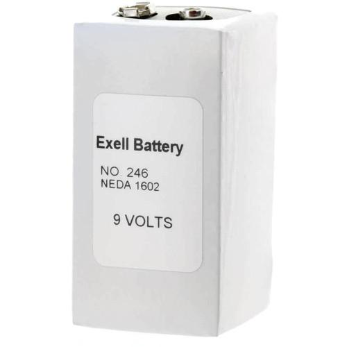 Exell Battery 246 9V Alkaline Battery (500 mAh) 246