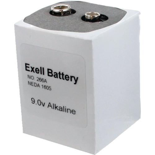 Exell Battery  266 9V Alkaline Battery 266
