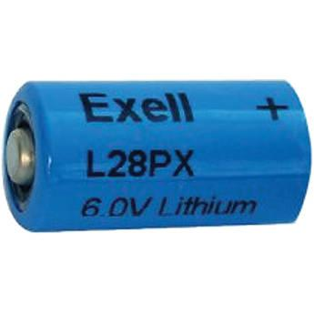 Exell Battery  L28PX 6V Lithium Battery L28PX