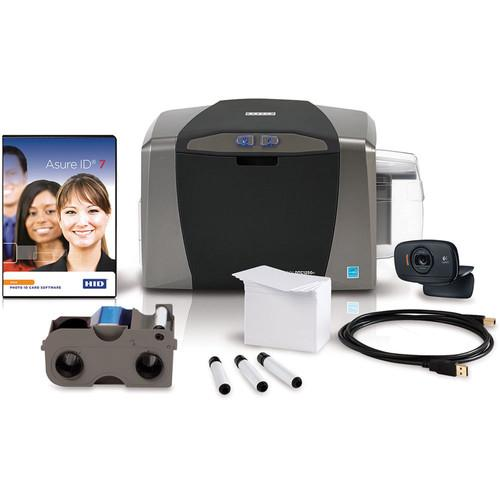 Fargo DTC1250e Single-Sided ID Card Printer System 50600