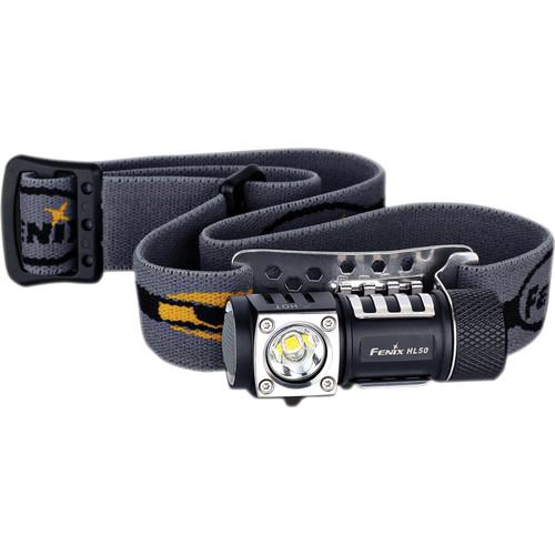 Fenix Flashlight  HL50 LED Headlamp HL50-L2T6-BK
