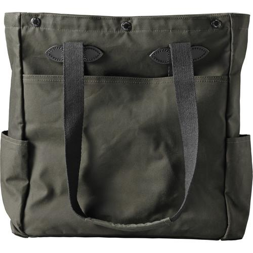 Filson Co McCurry Tote (Otter Green, Magnum Black) 70194-MU