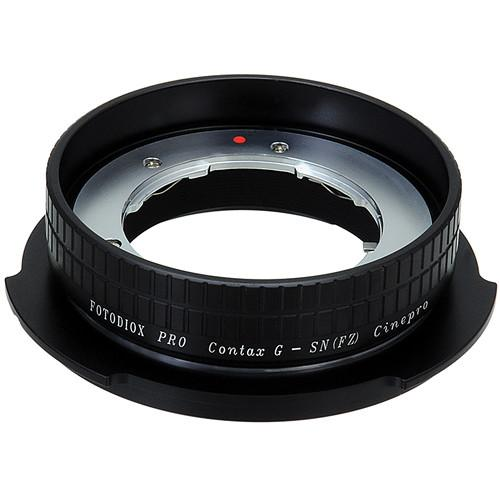 FotodioX Pro Lens Mount Adapter Contax G to Sony CNTXG-SNYFZ-PRO
