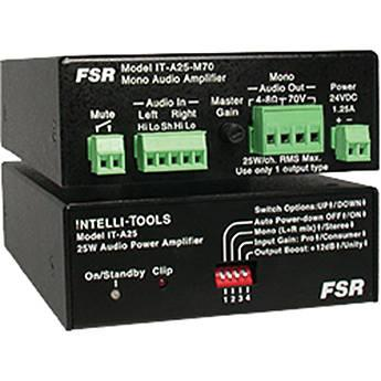 FSR  25 Watt Mono 70 Volt Amplifier IT-A25-M70