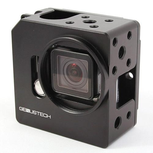 Genustech Cage for GoPro Hero 3  with LCD or GP-CAGE-BK EB