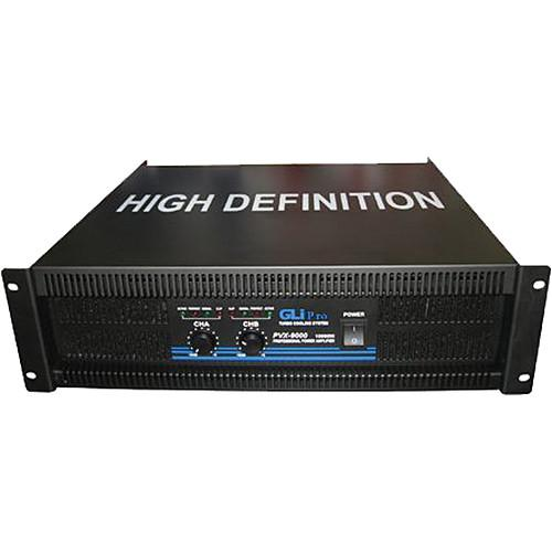 Gli pro PVX-9000 - Stereo Power Amplifier (10,000 W Max) PVX9000