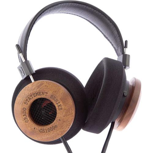 Grado GS1000e Headphones (Black and Mahogany) GS1000E
