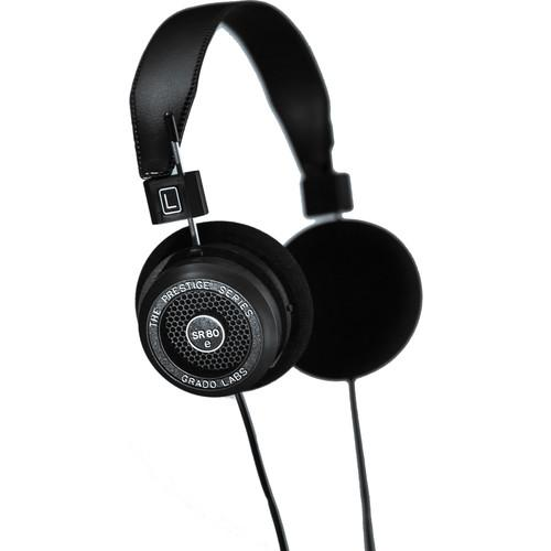 Grado Prestige Series SR80e Headphones (Black) SR80E