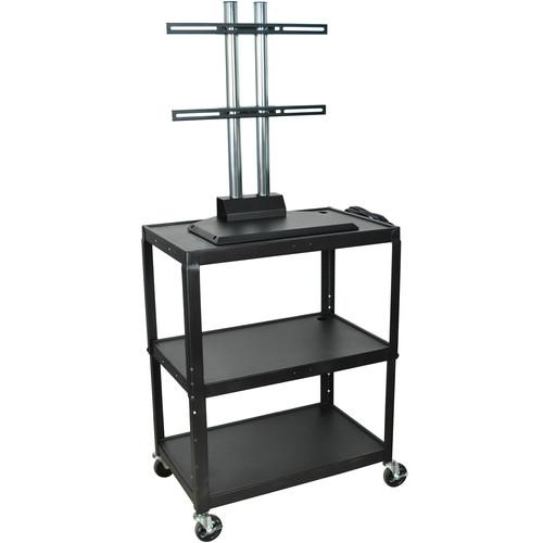 H. Wilson Adjustable Height Steel LCD Cart - 24 x 18 AVJ42XL-LCD