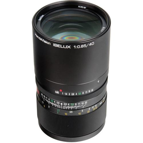 Handevision IBELUX 40mm f/0.85 Lens for Micro Four HVIB4085M43