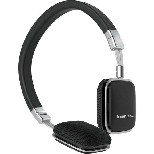 Harman Kardon Soho Lie-Flat On-Ear Mini iOS HKSOHOIBLK