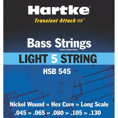 Hartke HSB 545 Bass Guitar Strings - Light 5-String Set HSB545