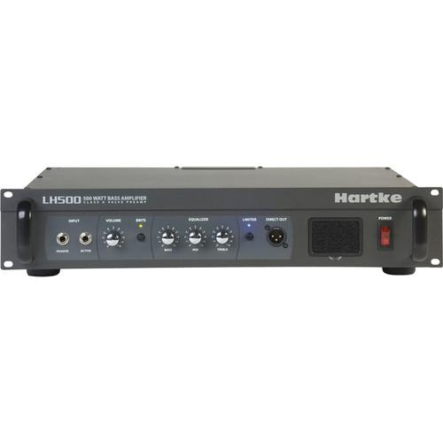 Hartke  LH500 Bass Amplifier (500W, 2RU) LH500
