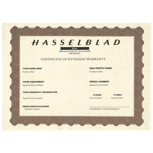 Hasselblad 1-Year Extended Warranty for H4D-50 50401000