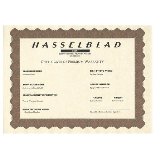 Hasselblad 2-Year Premium Warranty for CFV-50 50401060