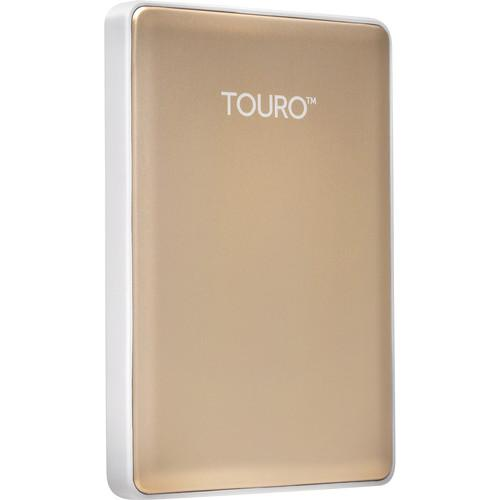HGST 500GB Touro S Ultra-Portable External Hard Drive 0S03757