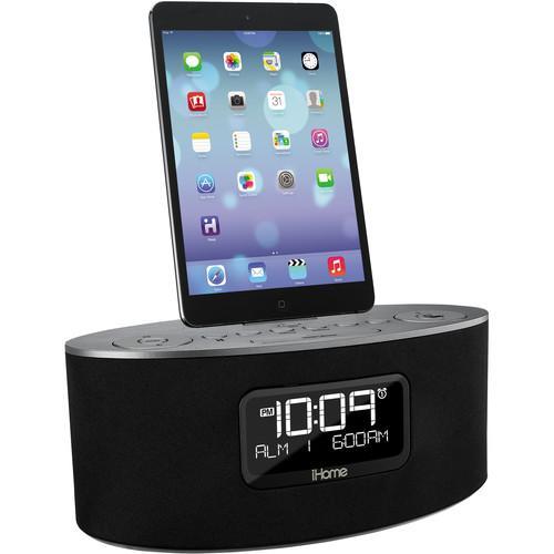 user manual ihome idl46 stereo dual alarm clock radio ipad iphone rh pdf manuals com iHome iH110 Clock Radio Manual iHome 2 Go Manual