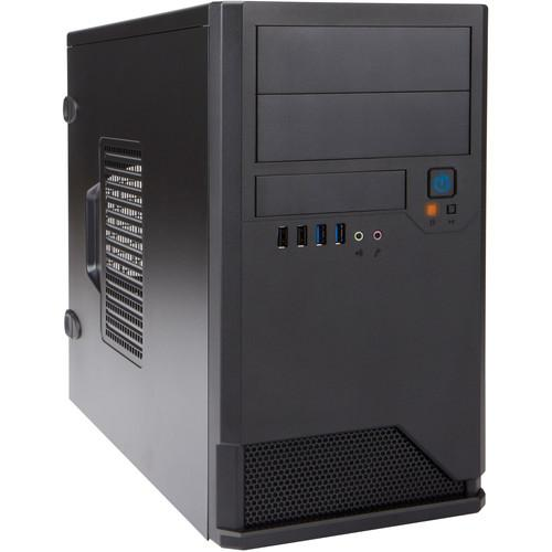 In Win EM048 Micro ATX Mini-Tower Chassis (Black) EM048.CH350TB3