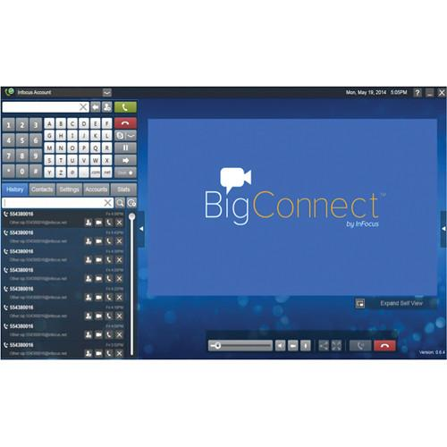 InFocus BigConnect Video Calling Software for PC INS-BCONNECT