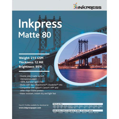 Inkpress Media  Duo Matte 80 Paper PP8060100