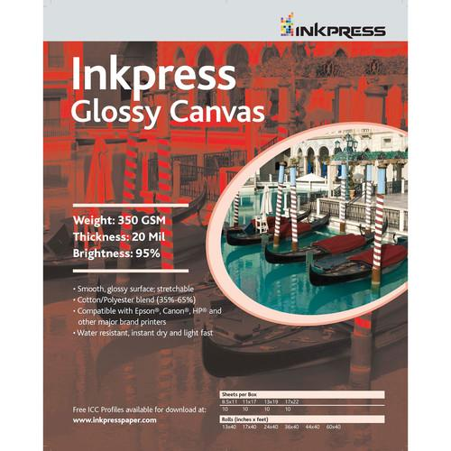 Inkpress Media Glossy Canvas (13