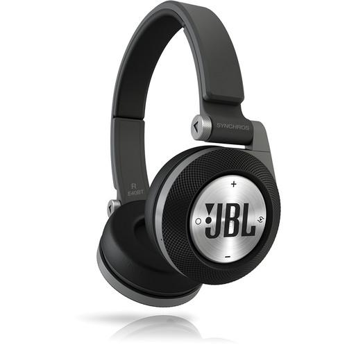 JBL Synchros E40BT Bluetooth On-Ear Headphones (Black) E40BTBLK