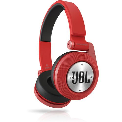 JBL Synchros E40BT Bluetooth On-Ear Headphones (Red) E40BTRED