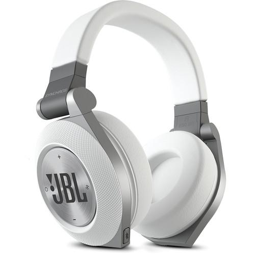 JBL Synchros E50BT Bluetooth On-Ear Headphones (White) E50BTWHT