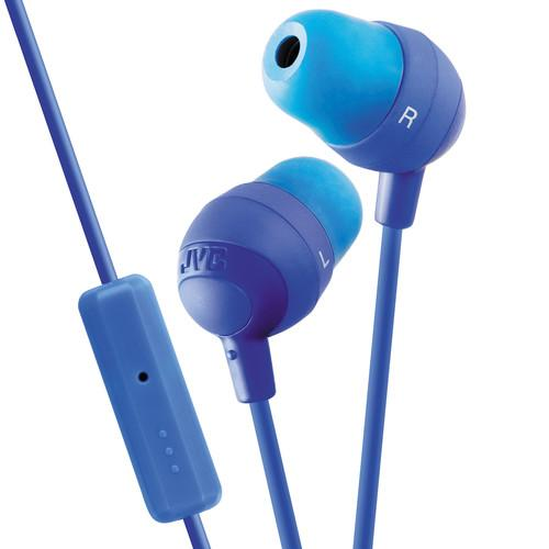 JVC HA-FR37 Marshmallow Inner-Ear Headphones (Blue) HAFR37A