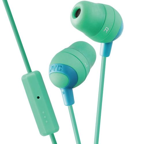JVC HA-FR37 Marshmallow Inner-Ear Headphones (Green) HAFR37G