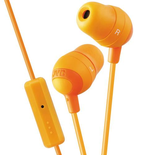 JVC HA-FR37 Marshmallow Inner-Ear Headphones (Orange) HAFR37D