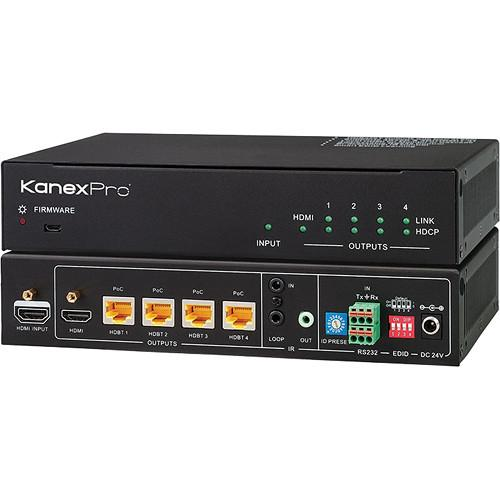 KanexPro HDBaseT 1x4 Over CAT6 Splitter SP-HDBT1X4