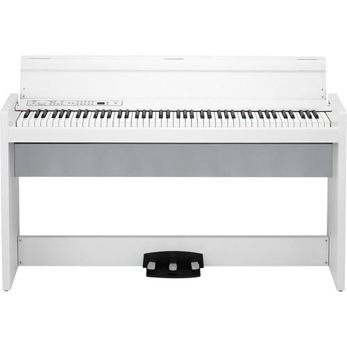 Korg LP-380 - 88-Key Digital Piano (White) LP380WH