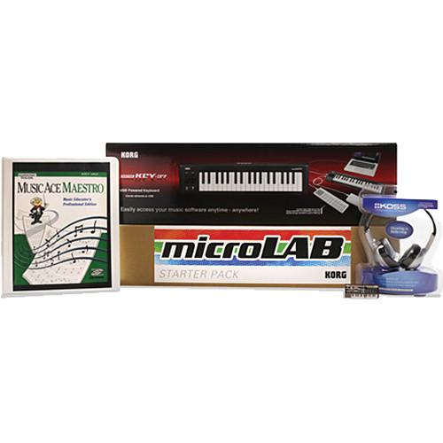 Korg microLab Networked Plus Bundle MICROLABNETPLUS