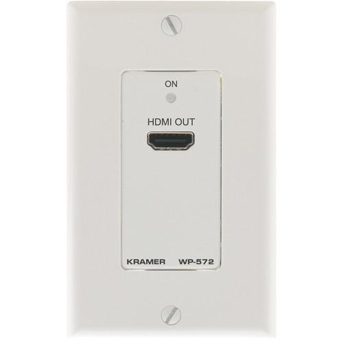 Kramer WP-572 Active 1-Gang Wall Plate HDMI over WP-572(W)