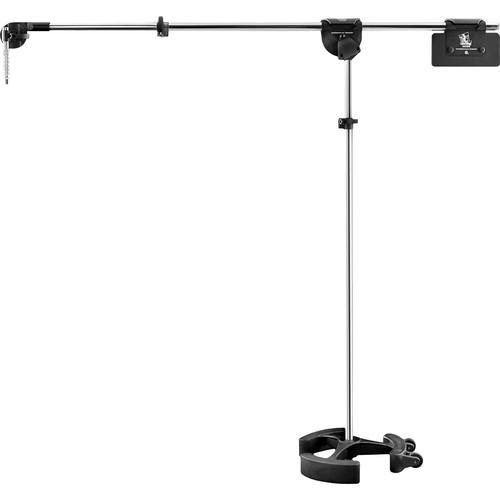 LATCH LAKE micKing 2200 Boom Microphone Stand (Chrome) MK2200CH