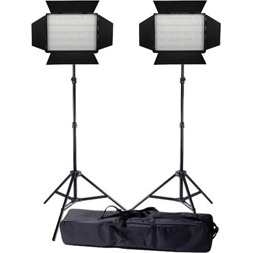 Ledgo Pro Series LED Bi-Color 1200 2-Light Kit LG1200CS2