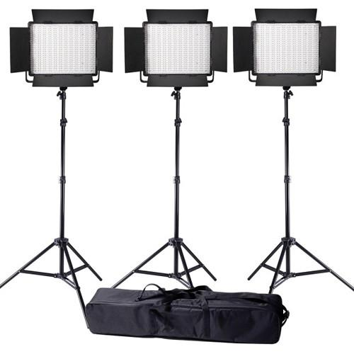 Ledgo Value Series LED Daylight 900 3-Light Kit LG900SC3