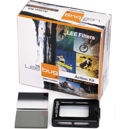 LEE Filters Bug 3 Action Kit for GoPro HERO3/Dive Housing BUG3AK