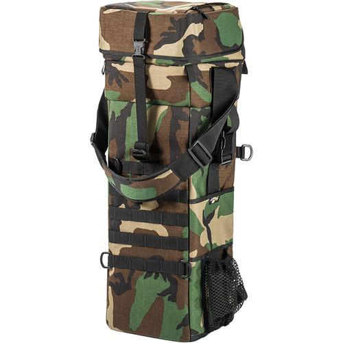 LensCoat Xpandable 4X Long Lens Bag (Forest Green Camo) LLB4XFG