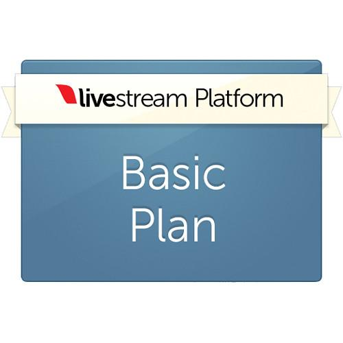 Livestream Livestream Platform Yearly LS-BASIC SERVICE - YEAR P