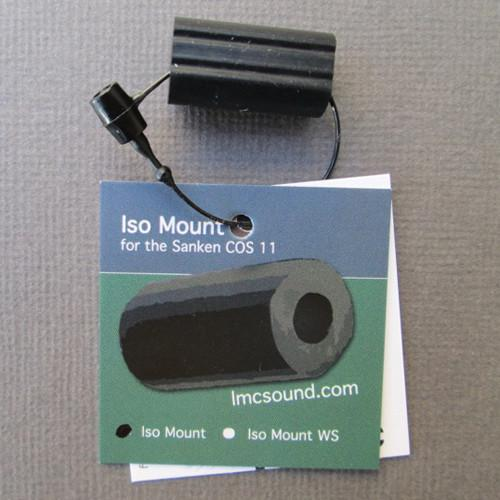 LMC Sound ISO Mount for Sanken COS-11 (Black) ISOMT-BK