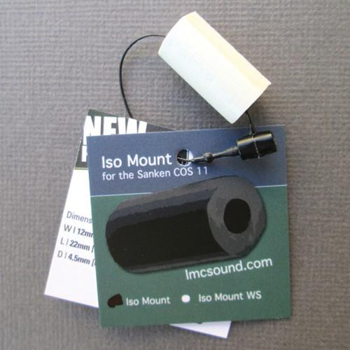LMC Sound ISO Mount for Sanken COS-11 (White) ISOMT-WHT