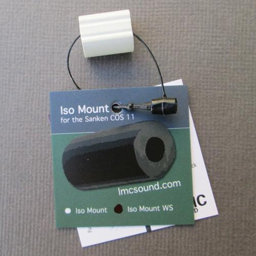 LMC Sound ISO Mount for Sanken COS-11 with WS-11 ISOMTWS-WHT
