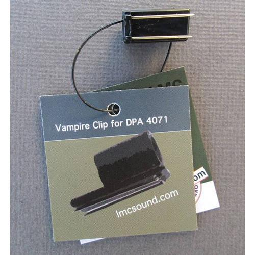LMC Sound Vampire Clip for DPA 4061 & 4071 (Black) DPAVPR-BK