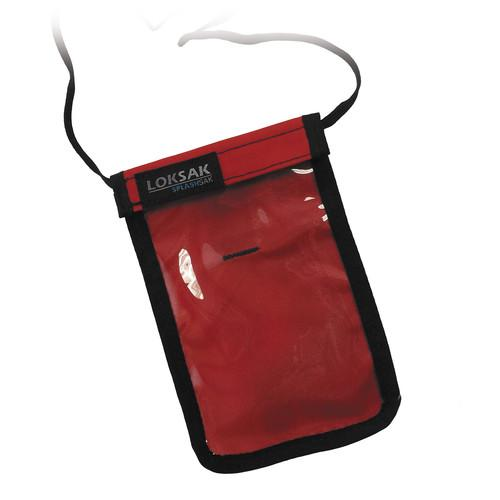 LOKSAK SPLASHSAK Phone Neck Caddy (Red) LOK-NC-P-RD