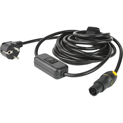 Lowel Powercon Switched AC Cable for Prime Location LED PC1-801